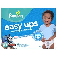 Pampers Boys Easy Ups Training Underwear, 2T-3T (Size 4), 80 Count by Pampers