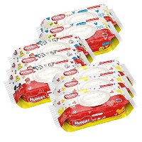 HUGGIES Simply Clean Baby Wipes, Unscented, Soft Pack ,72 Count by Huggies