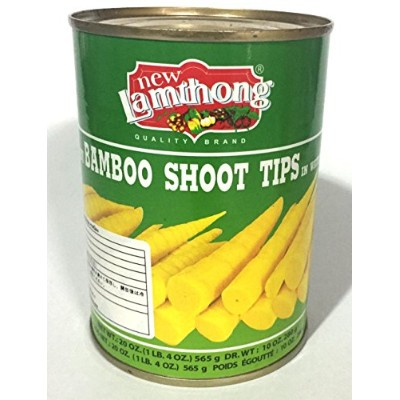 New Lamthong Brand (Baby Bamboo Shoot Tips in Water) 竹の子水煮 565g