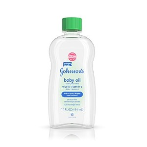 Johnson's Baby Oil, Aloe Vera & Vitamin E, 14-Ounce Bottles by Johnson's