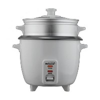 Brentwood ts180s Brentwood Rice Cooker /ノンスティック/ with Steamer / 8-cups ( Uncooked ) (ホワイトボディ)