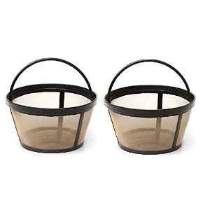 Permanent basket-styleゴールドトーンコーヒーフィルタDesigned for MR。コーヒー10 – 12 Cup basket-style Coffeemakers [...