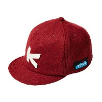 (カブ―)KAVU Baseball Cap(wool) 19820318 burgundy