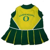 Pets First ODCLO-XS Oregon Ducks Cheer Leading XS