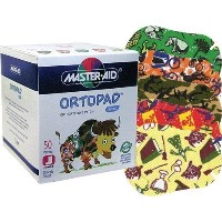 Ortopad Boys Eye Patches - Junior Size (50 Per Box) by ORTOPAD