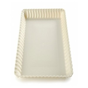 """Fineline設定Flairwareクリア9"""" x13"""" Serving Tray、小売pack- 99Piec 0Pieces"""