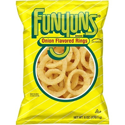 Funyuns Onion Flavored Rings, 6 oz. Bag [並行輸入品]