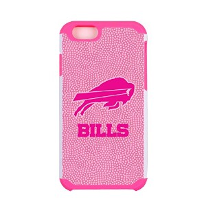 NFL Buffalo Bills Football Pebble Grain Feel iPhone 6ケース、ピンク
