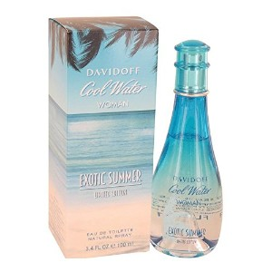 Cool Water Exotic Summer by Davidoff Eau De Toilette Spray (limited edition) 3.4 oz