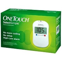 One Touch Select Simple Blood Glucose Monitoring System by One Touch Ultra