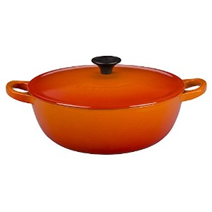 Le Creuset Enameled Cast Ironスープポット、1 1 / 2 Quart , Flame