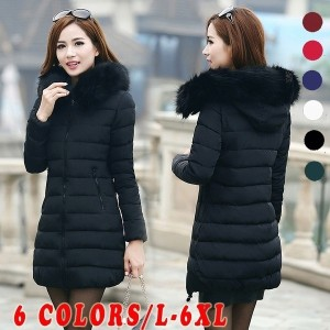 Brand Yeehorstar Womens Winter Jackets and Coats Warm Hooded Down Cotton Padded Parkas for   Women s