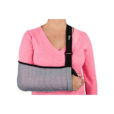 Think Ergo Arm Sling Sport Adult Small / Child / Youth - Ergonomic, Lightweight, Breathable Mesh,...