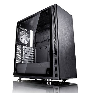 Fractal Design Define C, Black, Tempered Glass ミドルタワー型PCケース CS6889 FD-CA-DEF-C-BK-TG
