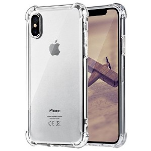I BECOME FREE iPhone x 10 ケース クリア 衝撃吸収