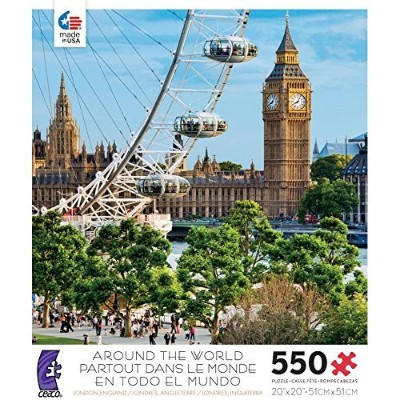 Ceaco 550-pc. Around the World London, England Puzzle by Unknown