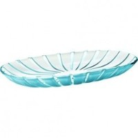 Guzzini Grace Serving Tray、15-inches by 7???1?/ 2インチby 1-inches ブルー 27970081