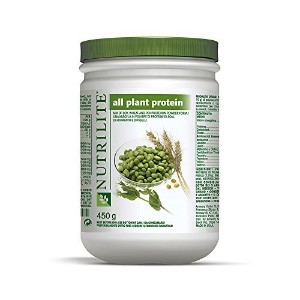 Nutrilite All Plant Protein Powder Provides a Natural By Amway Net Wt. 450 G. Pack of 2 by amway