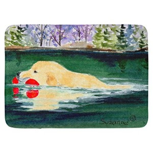 "Caroline 's Treasures ss8935rug "" Golden Retriever ""フロアマット、19 "" x 27インチ、マルチカラー"