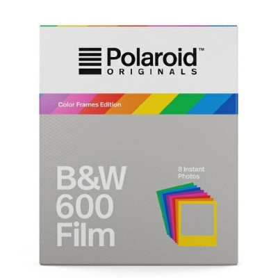 ポラロイド Polaroid Originals インスタントフィルム B&W Film For 600 Hard Color Frames 4673