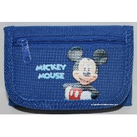 Mickey MouseディズニーTri Fold Walletブルー