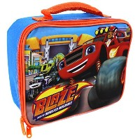 Nickelodeon Blaze and the Monster Machines Boys Hand Carry Insulated School Lunch Bag Box by...
