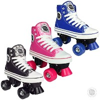 Pop Squad Midtown Girl 's and Boy 's Roller Skates – ピンク