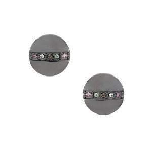 Camila Klein earrings and ring set - グレー