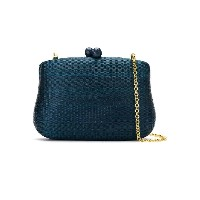 Serpui clutch bag - ブルー