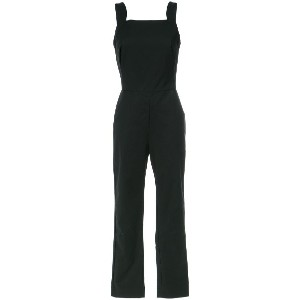 Andrea Marques straight neck jumpsuit - ブラック