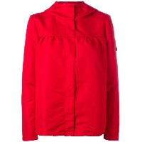 Moncler Gamme Rouge シャーリングディテール ジャケット - レッド