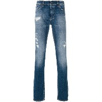 7 For All Mankind Ronnie the Skinny ジーンズ - ブルー
