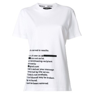House Of Holland プリント Tシャツ - ホワイト