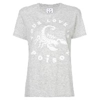 Zoe Karssen Your Love Is Poison Tシャツ - グレー