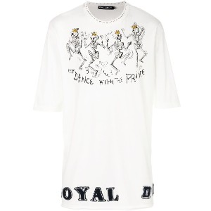Dolce & Gabbana Dance With The Prince Tシャツ - ホワイト
