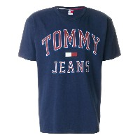 Tommy Jeans ロゴ Tシャツ - ブルー