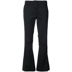 Proenza Schouler Flared trousers - ブラック