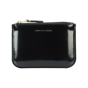 Comme Des Garçons Wallet Glossy Black コインケース - ブラック