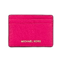 Michael Michael Kors Jet Set Travel カードケース - ピンク&パープル