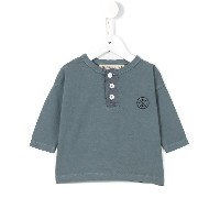 Bobo Choses Buttons Tシャツ - グレー