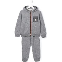 Moncler Kids ポケット スウェットセットアップ - グレー