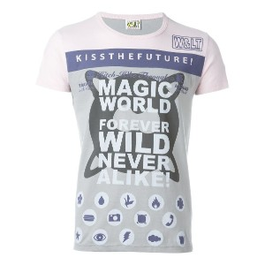 Walter Van Beirendonck Vintage Kiss the Future Tシャツ - グレー
