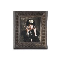 CHROME HEARTS CARVED CH PLUS PICTURE FRAME クロムハーツ 写真立て エボニーウッド