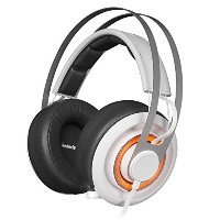 SteelSeries Siberia Elite Prism White ゲーミングヘッドセット 51190