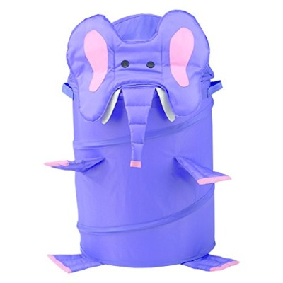 RedmonUSA Redmon for Kids The Original Bongo Bag Elephant Pop Up Hamper, Purple by RedmonUSA