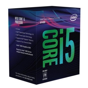 Intel Core i5 8400 (BX80684I58400) Coffee Lake (2.80-4.00GHz/6Core/6Thread/リテールBOX) LGA1151