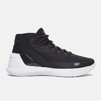 Under Armour Curry 3 キッズ/レディース Black/ White アンダーアーマー Stephen Curry ステフィン・カリー バッシュ