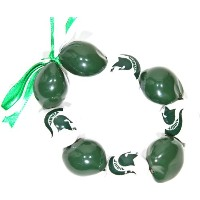 NCAA Michigan State Spartans Go Nuts Kukui Nutブレスレット