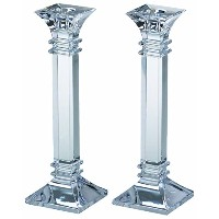 Marquis by Waterford Treviso 10-Inch Candlestick Pair [並行輸入品]