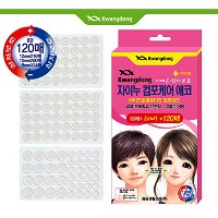 [Hana Care] ハイドロコロイド丸型バンド1box(120ea) X 6BOX / Hydrocolloid round band 1BOX(120ea) X 6BOX / 細く柔軟性...